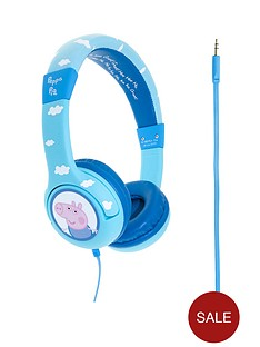 peppa-pig-george-clouds-junior-headphones-blue