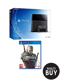 playstation-4-500gb-console-the-witcher-3-wild-hunt-free-driveclub-the-last-of-us-remastered