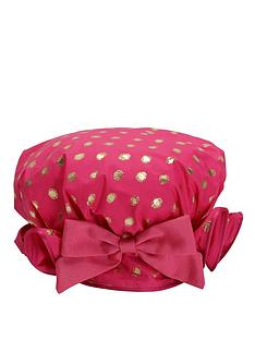bombay-duck-lula-fuchsia-shower-cap