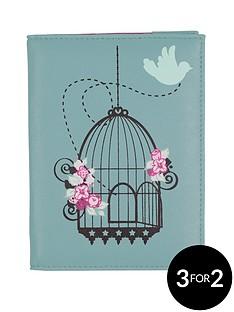 bombay-duck-vintage-birdcage-passport-cover