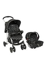 Mirage+ Travel System - Black Zig Zag