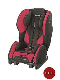 recaro-young-expert-plus-car-seat-group-1-cherry