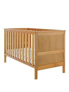 obaby-newark-cot-bed-free-sprung-mattress