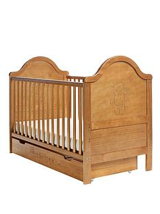 obaby-b-is-for-bear-cot-bed-and-under-drawer-free-sprung-mattress