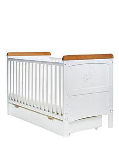 winnie-the-pooh-deluxe-cot-bed-and-under-drawer-free-sprung-mattress