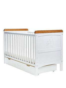 winnie-the-pooh-deluxe-cot-bed-and-under-drawer