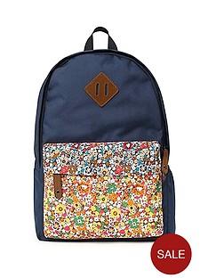 printed-floral-backpack-navy