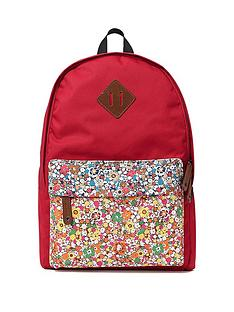 printed-floral-backpack-red
