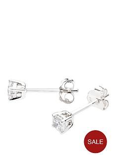 love-diamond-9-carat-white-gold-25-point-diamond-solitaire-earrings