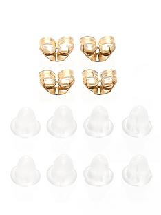 love-gold-9-carat-gold-set-of-four-earring-backs
