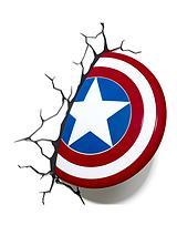 Marvel 3D Shield Wall Night Lamp