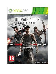 xbox-360-ultimate-action-triple-pack-includes-tomb-raider-just-cause-2-and-sleeping-dogs