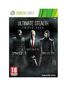 xbox-360-ultimate-stealth-triple-pack-includes-thief-hitman-absolution-and-deus-ex-human-revolution