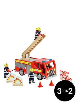tidlo-wooden-fire-engine