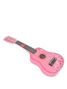 tidlo-wooden-guitar-pink