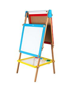 tidlo-wooden-height-adjustable-easel