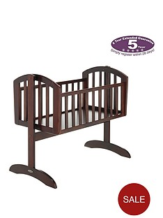 obaby-sophie-swinging-crib-and-mattress
