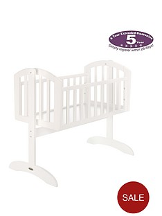 obaby-sophie-swinging-crib-and-mattress