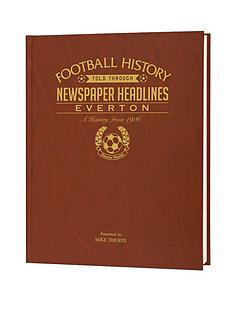 personalised-football-newspaper-a3-book-with-name-embossed-on-cover