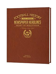personalised-football-newspaper-a3-book-scottish-teams-with-name-embossed-on-cover