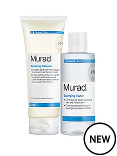 murad-claryifying-cleanser-and-toner-duo