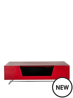 alphason-chromium-1200-mm-tv-stand-red