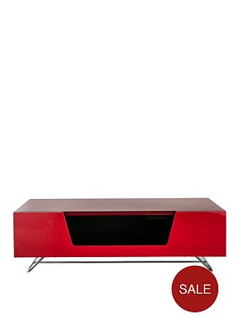 alphason-chromium-1200-mm-tv-stand-without-bracket--red-fits-up-to-50-inch-tv