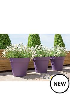 la-hacienda-set-of-3-x-40cm-eco-friendly-capri-pots-purple