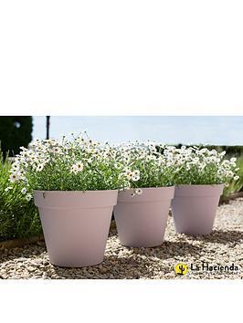 la-hacienda-set-of-3-x-40cm-eco-friendly-capri-pots-lavender