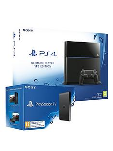 playstation-4-1tb-console-with-free-playstation-tv-and-optional-extra-dualshock-4-controller-and-12-months-playstation-plus