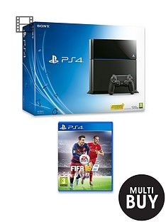 playstation-4-500gb-console-with-fifa-16-and-optional-12-months-playstation-plus-or-extra-dualshock-controller