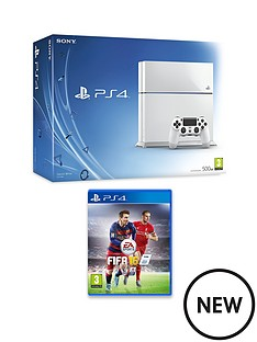 playstation-4-500gb-white-console-with-fifa-16-and-optional12-months-playstation-plus-or-extra-dualshock-controller