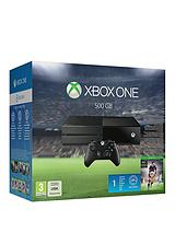 Console (No Kinect) with FIFA 16 and Optional 12 Months Xbox Live or Extra Official Controller
