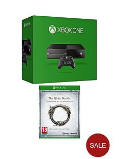xbox-one-console-no-kinect-with-elder-scrolls-online-and-optional-12-months-xbox-live-and-hc3-gaming-headset
