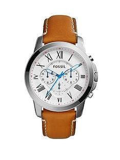 fossil-grant-chronograph-light-brown-leather-strap-mens-watch