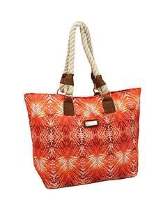 kangol-beach-bag-tropical-coral-print
