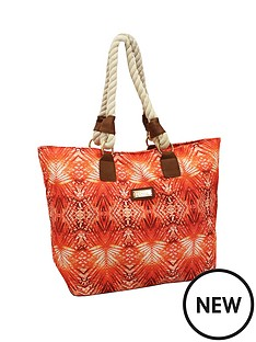 kangol-beach-bag-tropical-coral-print