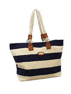 kangol-beach-bag-navy-stripe