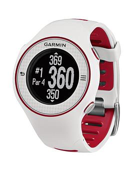 Garmin Approach S3 Touchscreen GPS Golf Watch - White/Red
