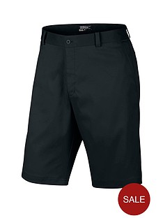 nike-flat-front-golf-shorts-black