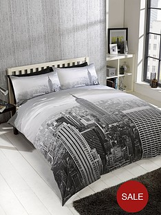 cascade-home-modern-city-double-duvet-set-grey