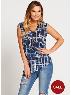 samantha-faiers-printed-wrap-front-crop-top
