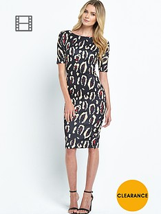 ax-paris-animal-print-scuba-midi-dress