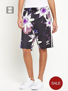 adidas-originals-lotus-print-shorts