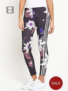 adidas-originals-lotus-print-leggings