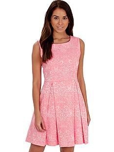 joe-browns-jacquard-skater-dress