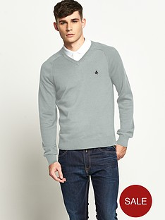 original-penguin-mens-v-neck-jumper