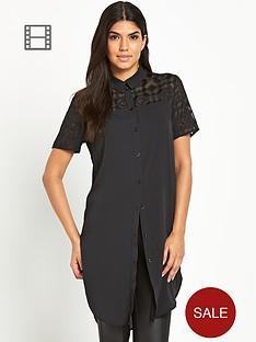 vero-moda-cristal-longline-shirt