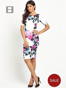 ax-paris-short-sleeved-scuba-dress