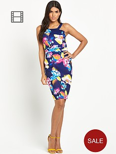 paper-dolls-floral-bodycon-dress